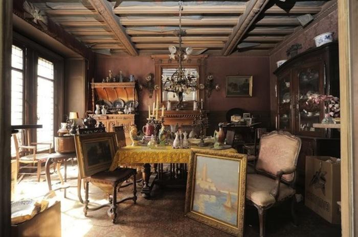 Интерьер квартиры, которую не открывали с 1939 года.