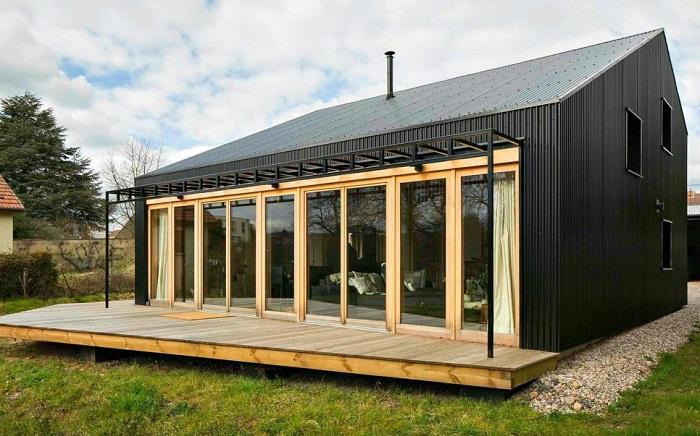 Open Source House - дом, построенный для пожилой пары.