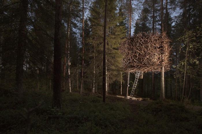 The Bird's nest. Проект архитектурной фирмы Inrednin Gsgruppen.