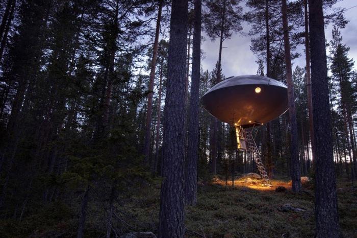 Шведский отель для туристов.