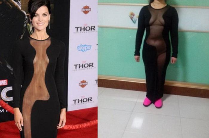 В этом платье можно стать только интернет-звездой. | Фото: tutvkysno.ru.