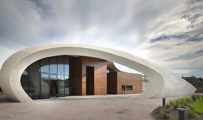 Maggies Cancer Caring Center - реабилитационный центр в Шотландии.