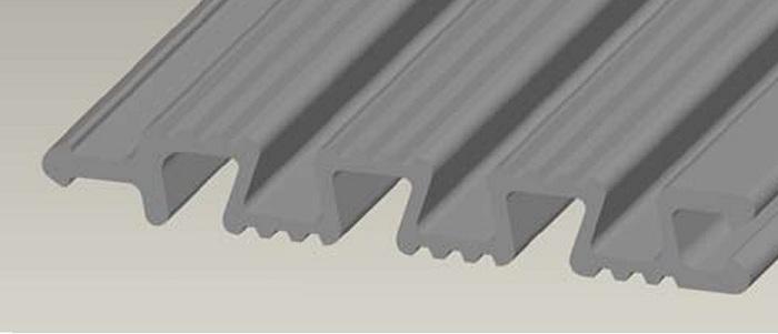 Строение алюминиевых панелей.