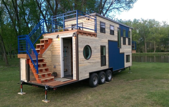 Ski Lodge - дом на колесах, в котором удобно жить и при - 45 до + 65 градусах.
