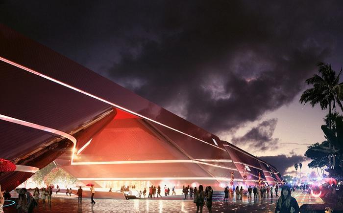 Mecanoo's cultural complex - будущий культурный центр в Китае.