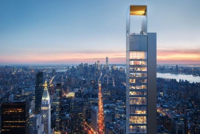 Проект небоскреба в Нью-Йорке от российских архитекторов.