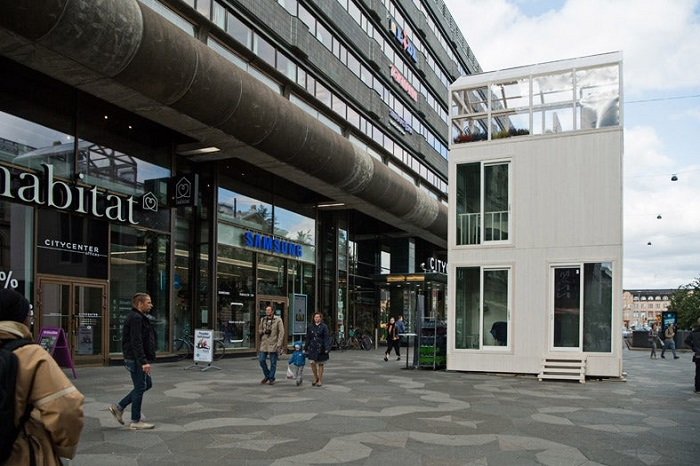 Проект дома от архитектора Марко Касагранде.