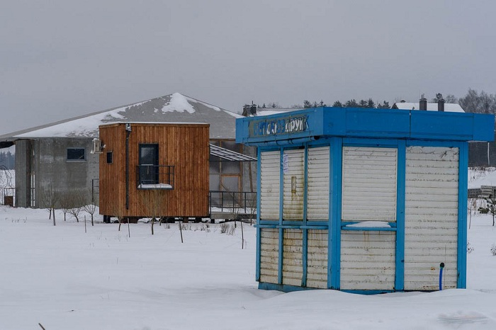 Уютный микродом в 40 км от Минска.