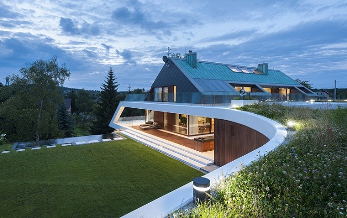 Архитекторский проект фирмы Mobius Architects.