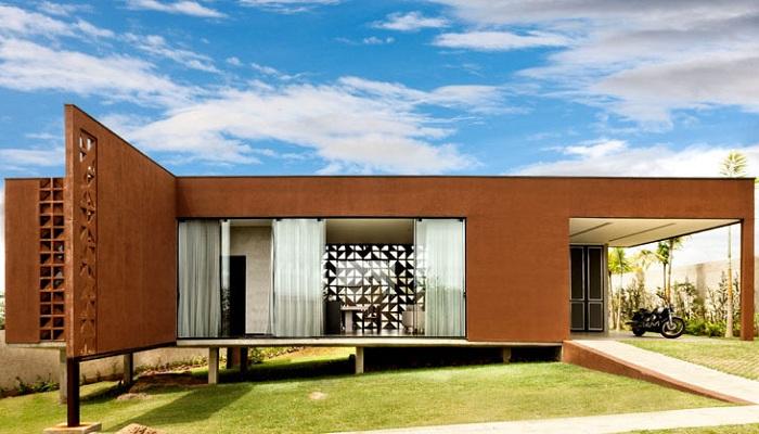 Casa Clara - частный дом в Бразилиа.