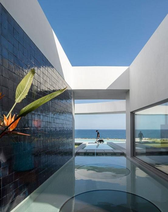 Casa Eliptica. Дизайн.