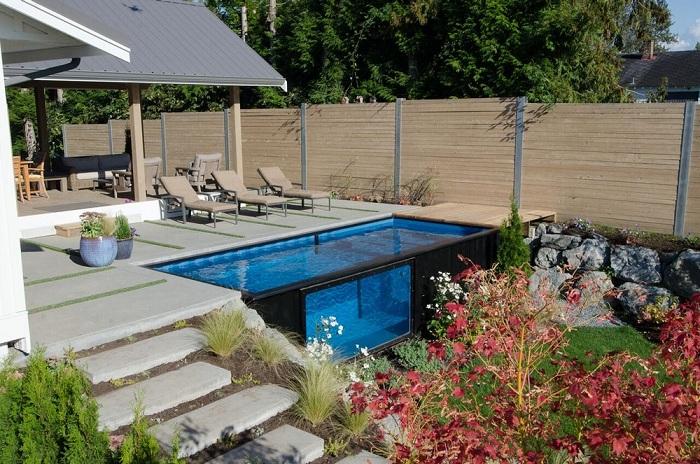 Modpool - бассейн, который можно установить за считанные минуты.