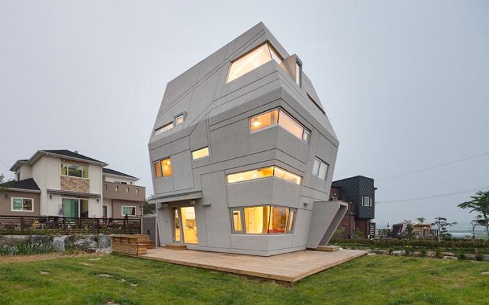 Дом в стиле «Звездных войн».