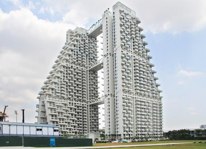 Moshe Safdie завершил строительство жилого комплекса Sky Habitat.