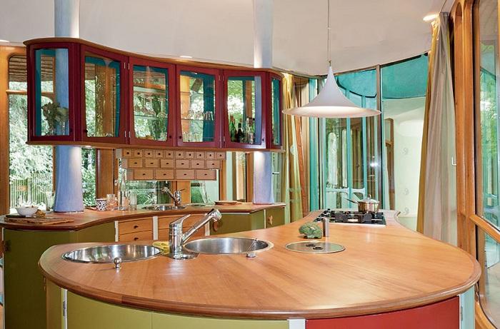 Дом в Грюнвальде. Кухня.