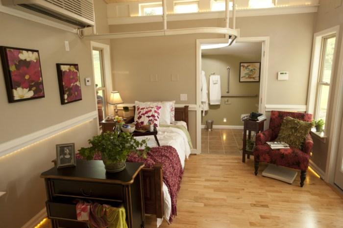 Домик площадью 26,8 кв. метров.