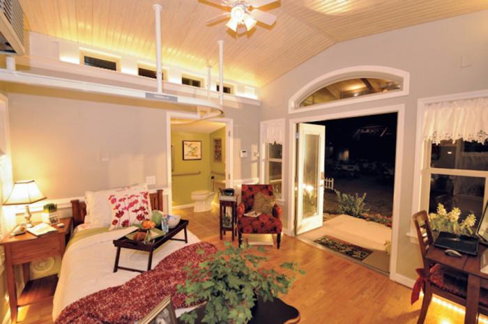 Домик площадью всего 26,6 кв. метров.