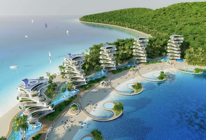 Концепт эко-отеля от Винсента Каллебота.