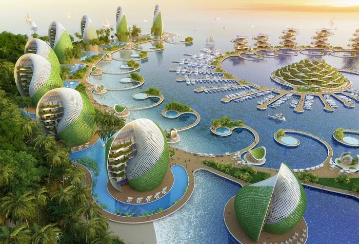 Nautilus Eco-Resort - концепт эко-отеля.