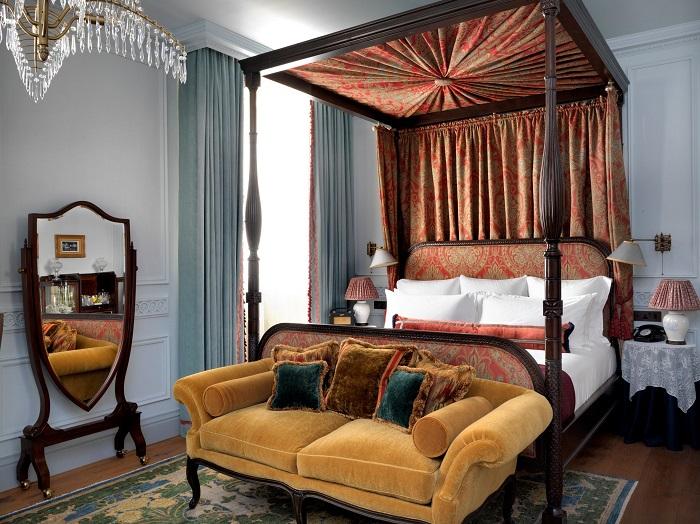 Номер отеля «The Ned», выполненный в винтажном стиле 1930-х гг.