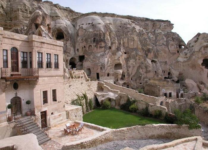Отель в Каппадокии (Турция).