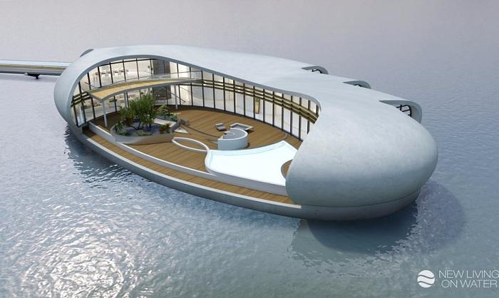 New Living - дом на плаву в Дубае.