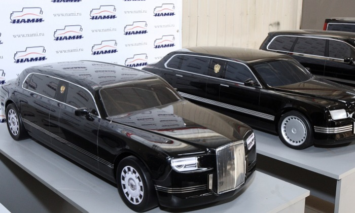 Лимузин автомобиль для президента России.
