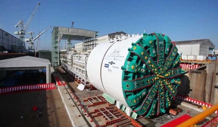 «Берта» - механизм для прокладывания туннелей.