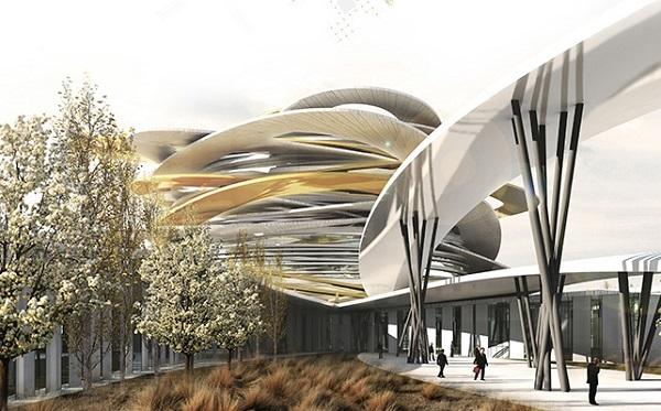 Проект казахского Пантеона от студии OCRA Studio.
