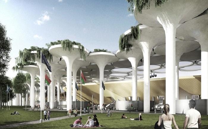 Проект белорусского стадиона для Евро 2020.