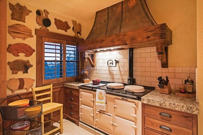 The Barn. Кухня.