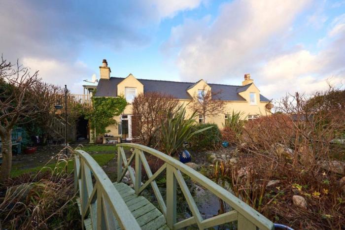 Частный дом у берегов Шотландии.