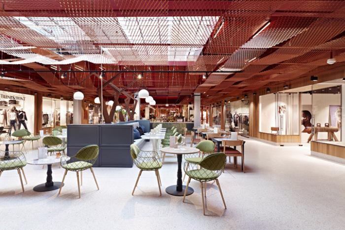 Paleet Shopping Center - обновленный торговый центр в Осло (Норвегия).