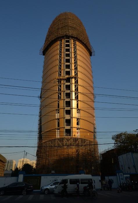 Штаб-квартира коммунистической газеты Жэньминь Жибао в Пекине.