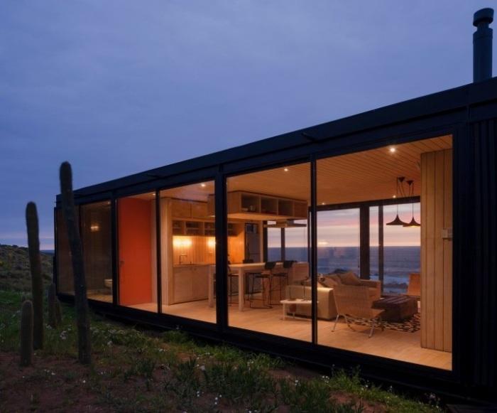 Remote House - модульный дом площадью 80 кв. метров.