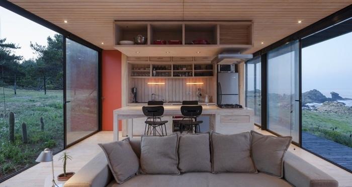 Remote House - прямоугольный модульный дом.