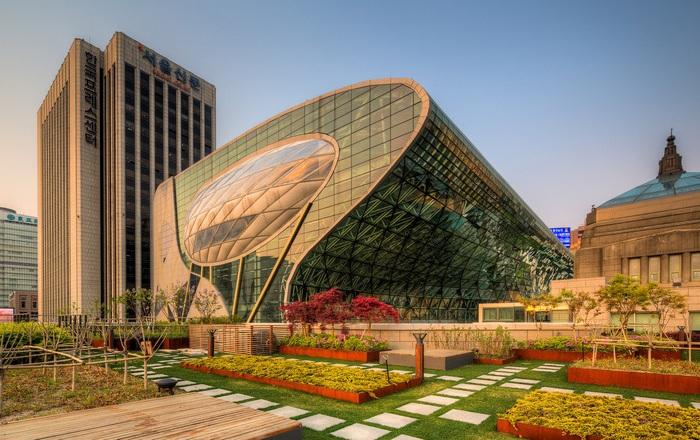 Seoul New City Hall - новый корпус городской мэрии Сеула.