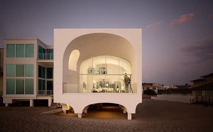 Пляжный дом в штате Калифорния.