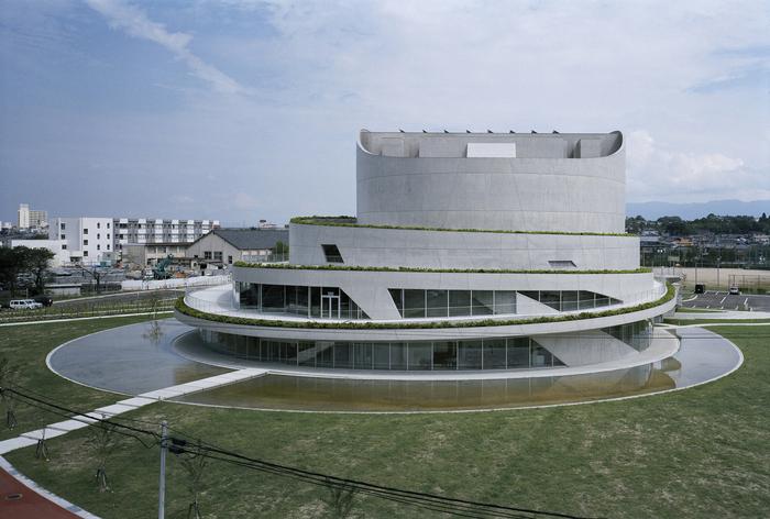 Akiha Ward Cultural Center - новый культурный центр Японии.