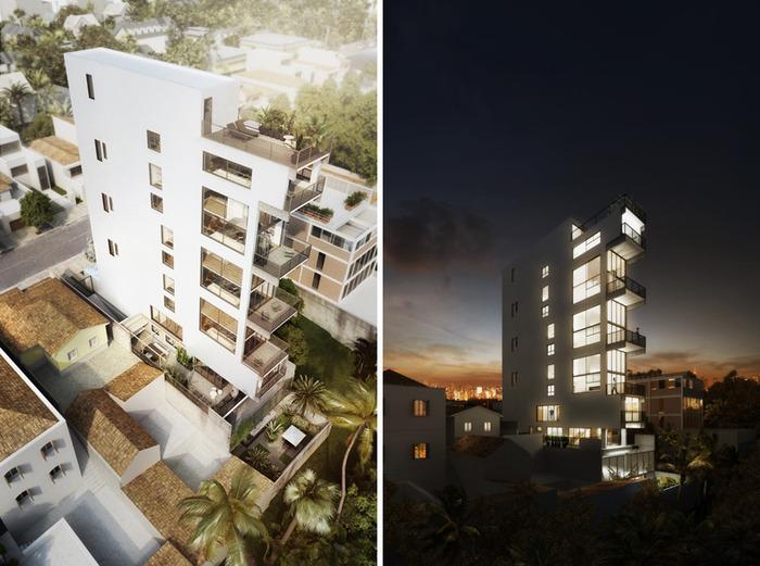 Проект архитектурной фирмы Triptyque.
