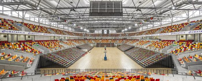 Вместимость Luanda Multisports Pavilion - 12000 зрителей.