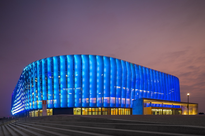 Luanda Multisports Pavilion. Спорткомплекс в Уганде.