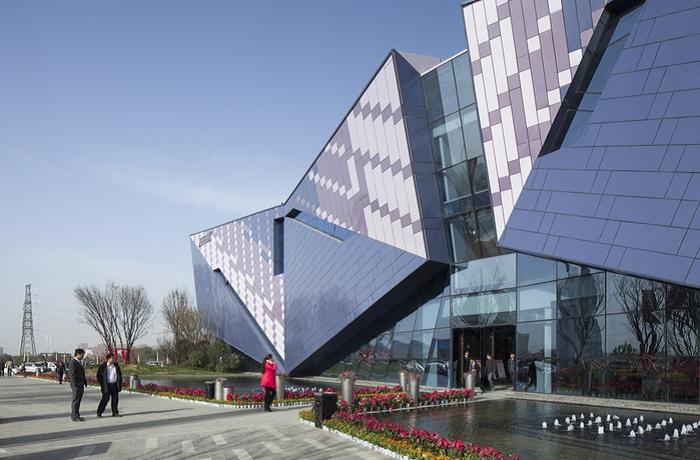 Проект архитектурной компании Shenzhen Upright & Pure Architectural Design Co.