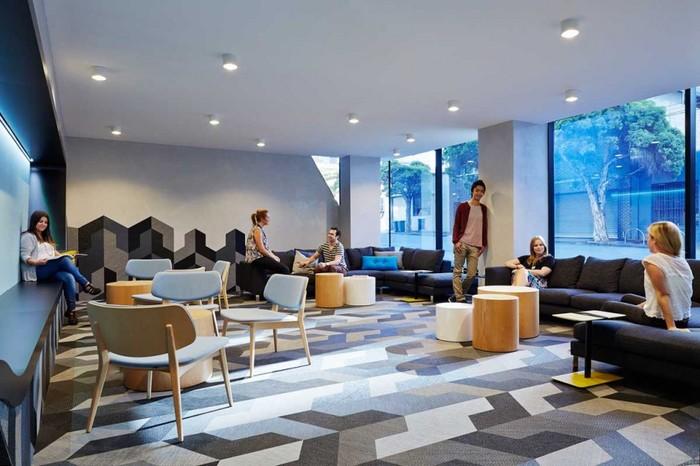 Комната для общения студентов.