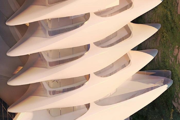 Оригинальный фасад будущего отеля Casa Atlantica.