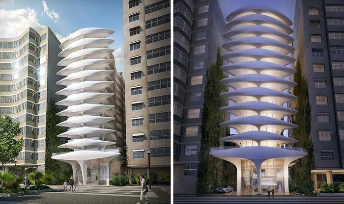 Casa Atlantica - проект отеля в Рио-де-Жанейро.