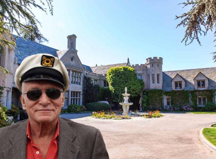 Дом Playboy продается вместе с хозяином.