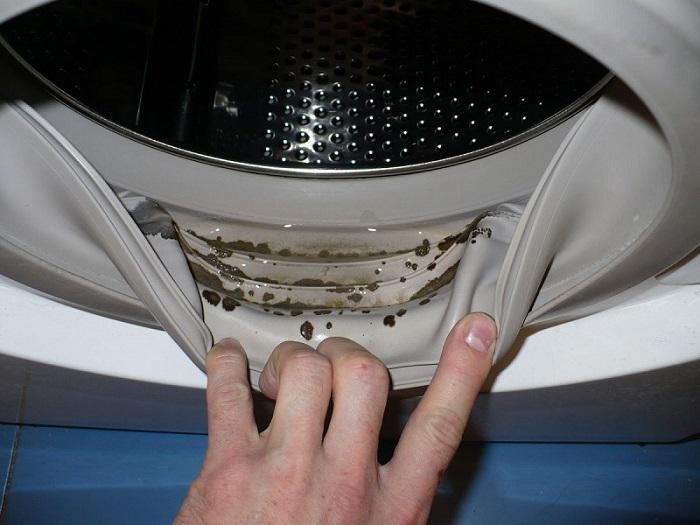 Как избавиться от плесени и затхлого запаха в стиральной машине