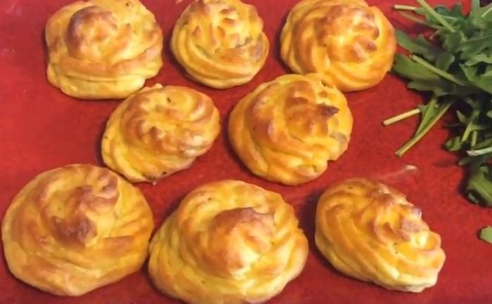 Готовый картофель Дюшес.