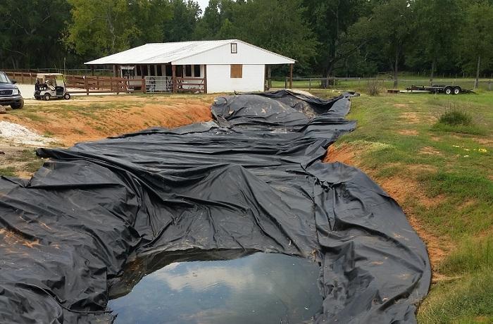 Размеры подкладочного материала составили 200х50 метров. | Фото: imgur.com/a/5JVoT#R7pfR1j.